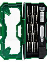baratos -Celular Kit de ferramentas de reparo Magnetizado 25 in 1 Extensão para Chave de Fenda Chave de Fenda Ventosa Plastic / Stianless Steel
