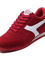 cheap -Men's Shoes Synthetic Microfiber PU PU Spring Fall Comfort Sneakers Athletic Shoes Running Shoes for Athletic Casual Black Gray Red
