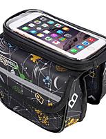 Недорогие -ROSWHEEL Велосумка/бардачок 2L Бардачок на раму Сотовый телефон сумка Пригодно для носки Со светоотражающими полосками Велосумка/бардачок