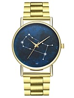 cheap -Women's Chinese Chronograph / Punk / Moon Phase Stainless Steel Band Fashion Gold