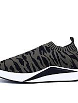 Недорогие -Муж. обувь Полиуретан Весна Осень Удобная обувь Кеды для Повседневные Серый Красный Зеленый