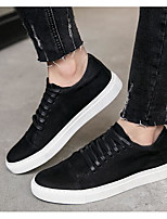 cheap -Men's Shoes Cowhide Nappa Leather Spring Fall Comfort Sneakers for Casual Black