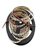 Недорогие -Гибкие светодиодные ленты 600 светодиоды Светодиодная лента 5M Белый Можно резать Самоклеющиеся Подсветка для авто Декоративная DC 12 В