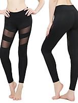abordables -Pantalon de yoga Leggings Collants Yoga Taille haute strenchy Vêtements de sport Femme Yoga Danse Fitness Course / Running