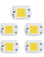 cheap -5pcs 220V for DIY LED Flood Light Spotlight Input Smart IC LED Chip Aluminum