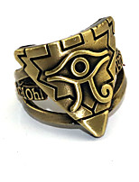 cheap -Cosplay Accessories Inspired by Yu-Gi-Oh Other Anime Cosplay Accessories Ring Chrome