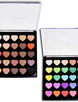 cheap -25pcs EyeShadow Cute Waterproof Palette High Quality Combination Dry Normal Oily Shadow Powder Thick Smokey Makeup Cateye Makeup Fairy
