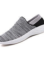 cheap -Men's Shoes Knit Spring Summer Comfort Loafers & Slip-Ons for Casual Outdoor Black Gray Red