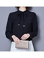 cheap -Women's Blouse - Solid Stand