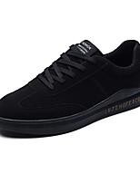 abordables -Homme Chaussures Similicuir Tulle Hiver Automne Confort Basket Marche pour Athlétique Décontracté Noir Gris Noir/blanc
