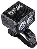 preiswerte -Radlichter Fahrradlicht LED Lampe Glühbirnen LED Radsport Tragbar Verstellbar Wasserfest 2400 Lumen Weiß Radsport - WOSAWE