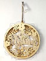 Недорогие -Свадьба деревянный Свадебные украшения Сад / Свадьба Все сезоны