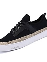 cheap -Men's Shoes Rubber Spring Comfort Sneakers for Outdoor White Black Red Khaki