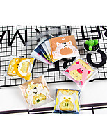 cheap -Square Shape Plastic Favor Holder with Pattern / Print Favor Bags - 1set