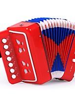 Недорогие -Аккордеон Игрушечные музыкальные инструменты Квадратный Музыкальные инструменты Искусство Музыка 1pcs