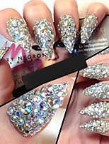 cheap -10 Outfits Rhinestones Nail Glitter Bling Bling Crystal/Rhinestone Event/Party Daily Nail Art Design
