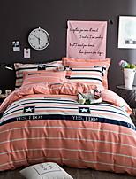 cheap -Duvet Cover Stripes/Ripples 1 Piece 100% Cotton Reactive Print 100% Cotton 1pc Duvet Cover