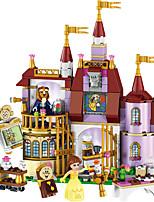 Недорогие -LELE Educational Building Blocks Toys For Children Gifts Castle Girls Friends Princess Prince Mermaid Beauty Beast Snow Elsa Anna
