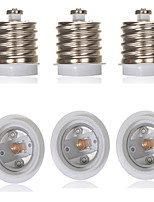cheap -6pcs E40 to E27 Converter Bulb Accessory Light Socket Aluminum Plastic