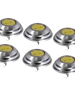 cheap -SENCART 6pcs 1.5W 60 lm G4 LED Bi-pin Lights T 1 leds COB Decorative Warm White Cold White DC 12V