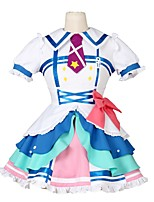 cheap -Inspired by Love Live Other Anime Cosplay Costumes Cosplay Suits Other Short Sleeves Dress Bow More Accessories Tie For Men's Women's