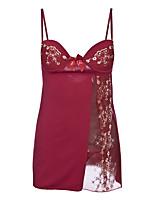 abordables -Costumes Vêtement de nuit Femme - Dentelle, Broderie