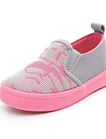 cheap -Girls' Shoes Tulle Spring Fall Comfort Loafers & Slip-Ons for Casual Light Grey