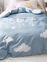 cheap -Duvet Cover Sets Cartoon 100% Cotton Reactive Print 3 Piece
