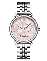 cheap -Women's Quartz Wrist Watch Casual Watch Alloy Band Fashion Silver Gold Rose Gold