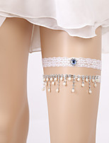 cheap -Lace Fashionable Jewelry Wedding Wedding Garter 617 Rhinestone Garters Wedding Party Evening