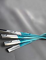 abordables -10 PCS 12 pièces Argent Autocollant pour auto Business Garniture de fenêtre Non spécifié Garniture de fenêtre