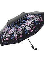 cheap -Fabric Women's / All Sunny and Rainy / Wind Proof Folding Umbrella