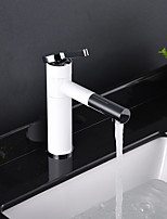 cheap -Faucet Set - Widespread Painting Centerset Single Handle One Hole