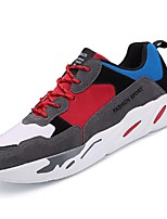 cheap -Men's Shoes TPU Spring / Summer Comfort / Light Soles Sneakers Running Shoes / Fitness & Cross Training Shoes / Tennis Shoes Beige / Red