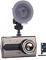 cheap -T667 720p / 1080p / 640 x 480 Car DVR Wide Angle 4inch Dash Cam with G-Sensor Car Recorder