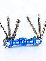 cheap -Multifunction Repair Tools & Kits Screwdriver, Repair Kit, Nondeformable Cycling / Bike Carbon Steel Black / Red / Blue - 1pcs