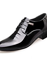 cheap -Men's Shoes Leatherette Spring Fall Formal Shoes Comfort Oxfords for Casual Office & Career Black