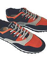 Недорогие -Муж. обувь Нубук Осень / Зима Удобная обувь Кеды Желтый / Синий