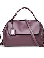 cheap -Women's Bags PU Shoulder Bag Zipper for Event / Party Casual All Seasons Blue Black Purple