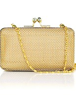 cheap -Women's Bags Alloy Clutch Hollow-out for Event / Party Gold