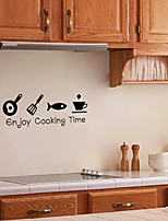 cheap -Wall Decal Decorative Wall Stickers - Plane Wall Stickers Characters Re-Positionable Removable