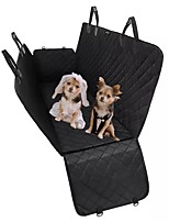 cheap -Dogs Cats Pets Carrier & Travel Backpack Car Seat Cover Pet Carrier Multi layer Waterproof Portable Foldable Folding Travel Solid Colored