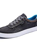 Недорогие -Муж. обувь Полотно Лето Удобная обувь Кеды Черный / Темно-синий / Серый