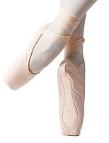 abordables -Femme Chaussures de Ballet Tissu Plate Intérieur / Entraînement Talon Plat Personnalisables Chaussures de danse Amande