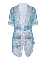 cheap -Women's Suits Teddy Nightwear - Mesh, Solid Colored