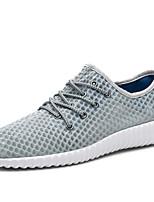 abordables -Homme Chaussures Tulle Printemps / Eté Confort Basket Noir / Gris
