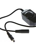 Недорогие -ZDM® 1шт 12-24V Водонепроницаемый с разъемом постоянного тока Газонокосилка Переключатель светорегулятора пластик для светодиодной полосы
