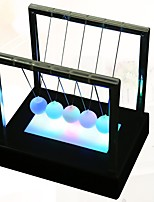 Недорогие -1шт LED Night Light Цветной Аккумуляторы AA Колыбель Ньютона Романтика День рождения LED подсветка Подарочные коробки Декоративное