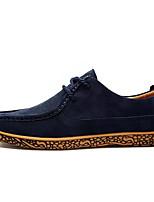 Недорогие -Муж. обувь Бархатистая отделка Весна / Осень Удобная обувь Кеды Синий / Винный / Хаки