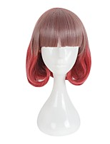 cheap -Cosplay Wigs Cosplay Other Anime Cosplay Wigs 35cm CM Heat Resistant Fiber All